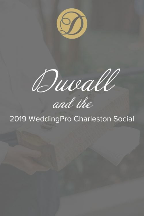 Duvall and the 2019 WeddingPro Charleston Social